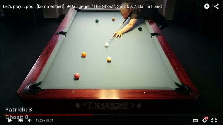 Let's Play… pool! #1 – Billard-Trainings-Videos mit Kommentar