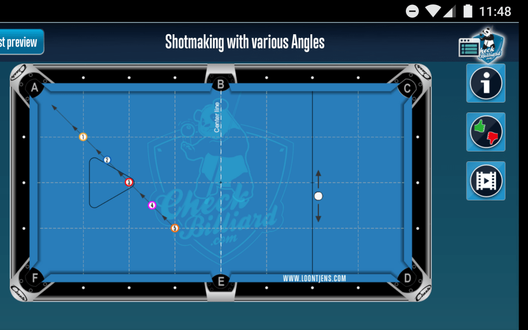 Pool training with a smartphone app – try out Checkbilliard!