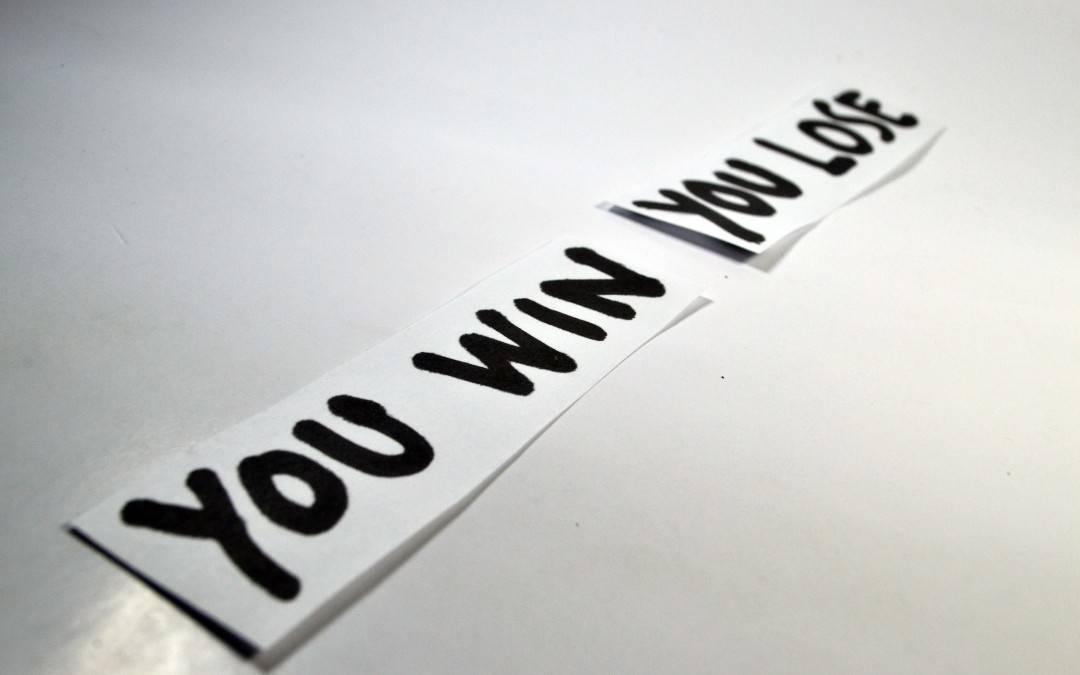 Am Gewinnen und am Verlieren sein (und was für ein Quatsch das ist)